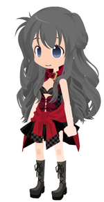 Yukino Orimé : la gothique sexy