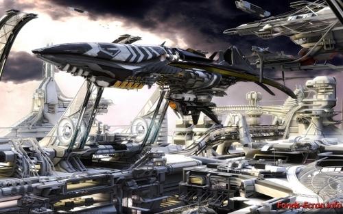 Les vaisseaux spatiaux ! .