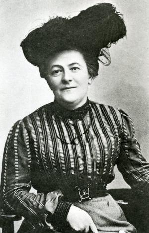 """Clara Zetkin (1857-1933)<em>"""" Le droit de vote sans liberté économique n'est ni plus ni moins qu'un chèque sans provision.""""</em>"""