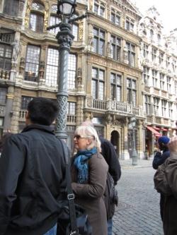 VOICI LES PHOTOS DE HASMIK sur la visite de la Grand Place de Bruxelles...