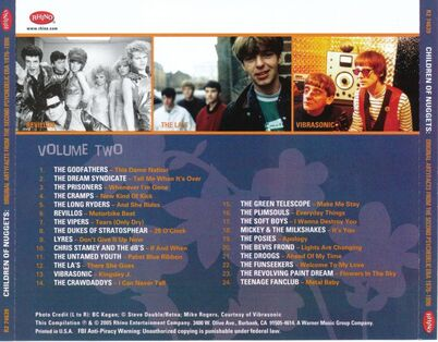 Cover me # 108: Children Of Nuggets - Original Artyfacts From The Second Psychedelic Era 1976-1996 (Disc 2)
