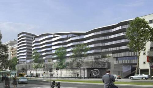 Futur centre bus de Montrouge.