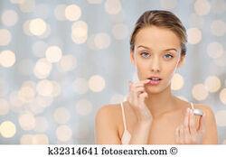 Un baume à lèvres fondant