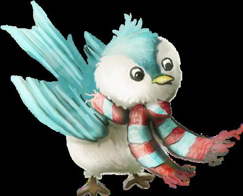 Tubes oiseaux en png
