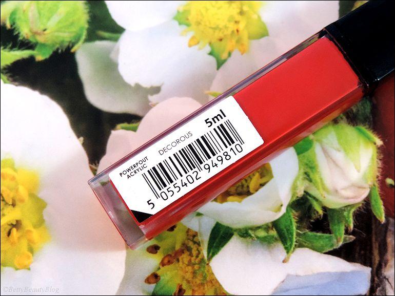 Decorous mes lèvres vinyle fraise !
