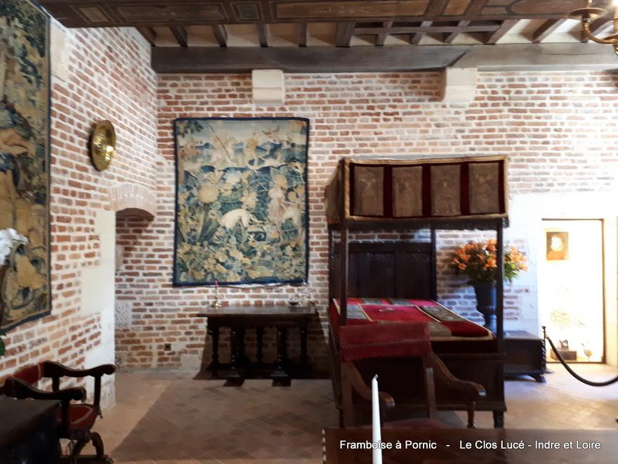 Château du Clos Lucé - Val de Loire - septembre 2019