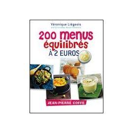200 Menus Équilibrés À 2e de Véronique Liégeois