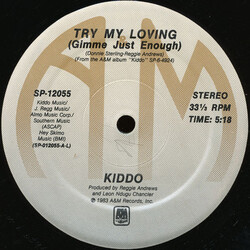 Kiddo - Try My Loving (Just Can't Get Enough)