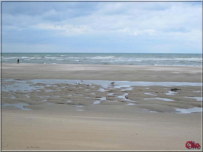 Mer et plages en fin d'été.
