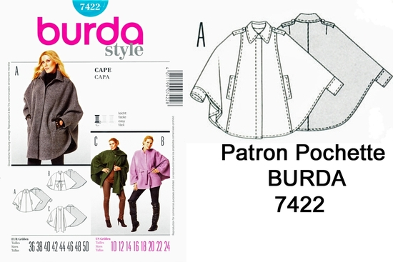 Burda 7422 copie