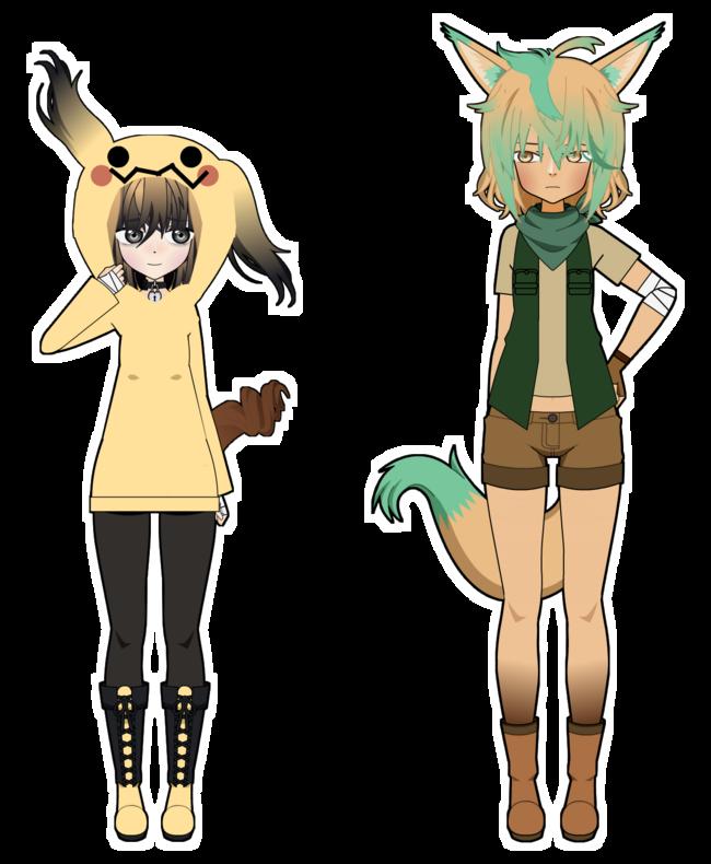 【Pokémon】 Da freakin' team – Gijinka ver. [2/3]