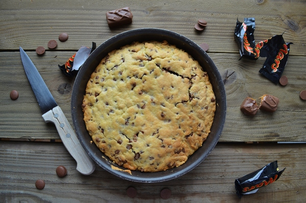 One pan cookie aux mars