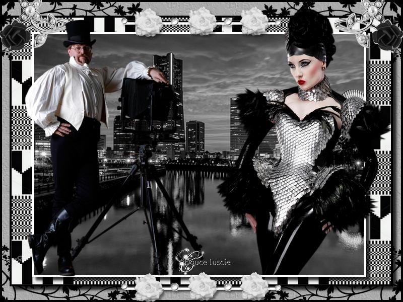 Défi noir et blanc Annette