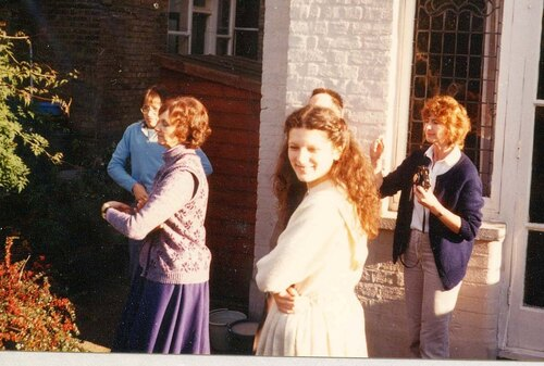 That wedding party in 1985
