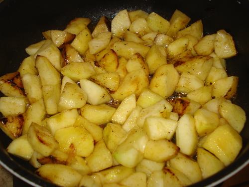 Mon Crumble Pommes Abricots Pistaches