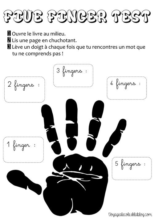 Five Finger Test !