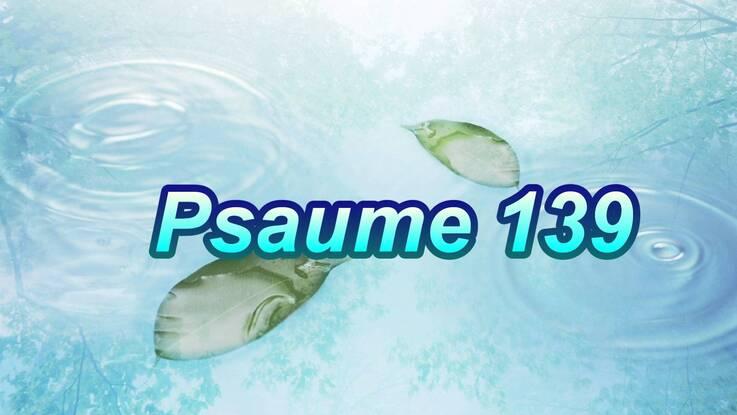 Résultats de recherche d'images pour «psaume 139»