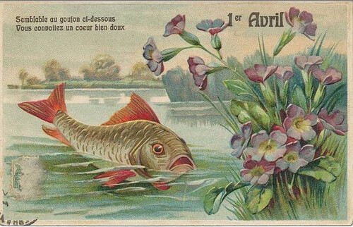 1er Avril = Poisson d'Avril