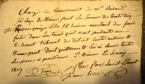 De la Livre au Franc