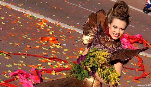 Bataille de fleurs à Nice