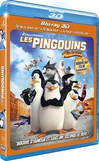 [Blu-ray 3D] Les Pingouins de Madagascar