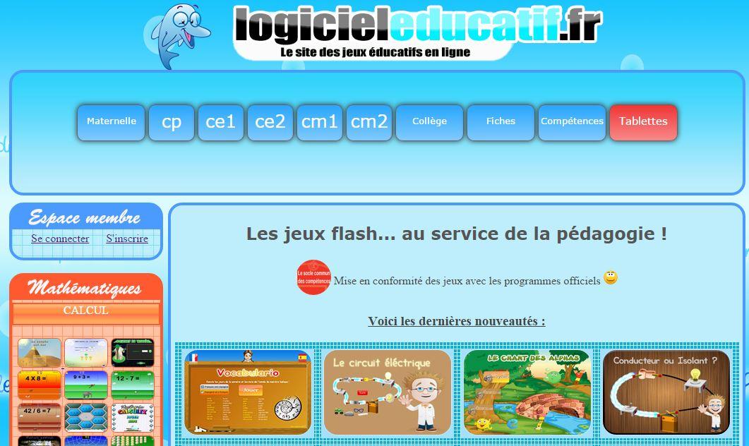 logiciel educatif primaire gratuit