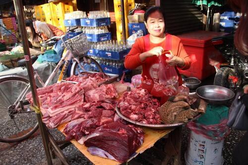 Le marché de Louang Prabang