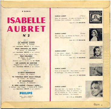Isabelle Aubret, 1962