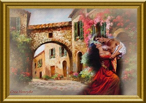 Tableau romantique l 39 univers d 39 henry80 for Tableau pour chambre romantique