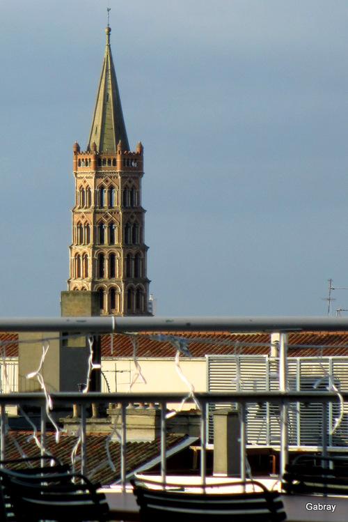Toulouse: les toits de la ville rose!