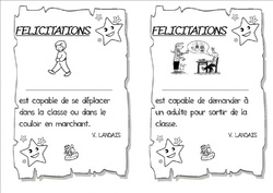 Messages de félicitations