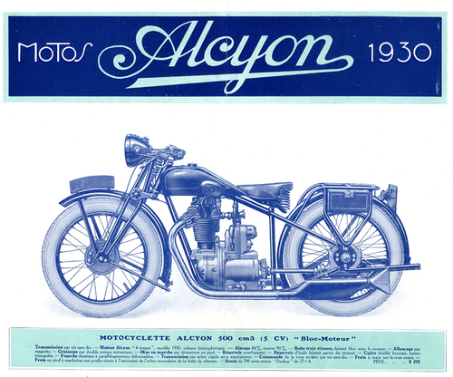 ALCYON : une marque, un catalogue