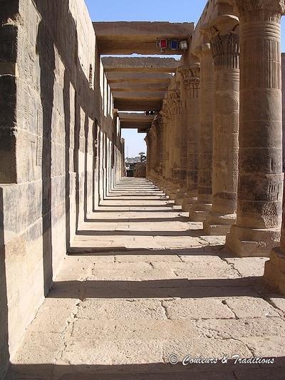 Le temple d'Isis à Philae
