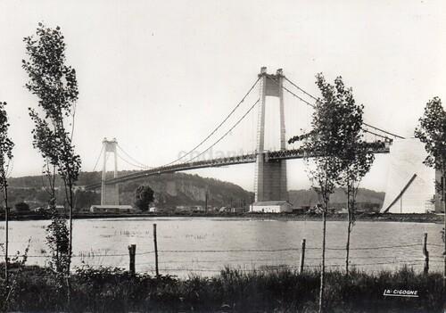 Le pont de Tancarville