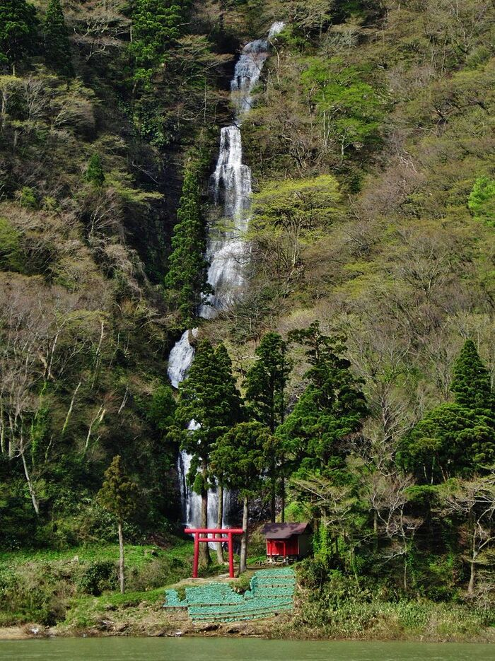 Paysage Magnifique Du Mont Fuji Au Japon