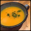 Soupe de potiron & orange