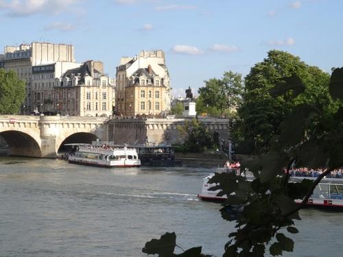 Paris: autour de l'Académie Française et du Pont des Arts (photos)