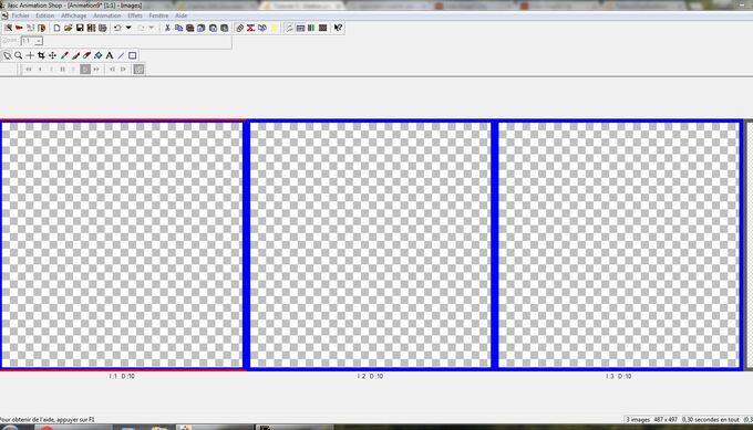 Tutoriel 3 : Mettre une création ou image dans un cadre animé (gif)