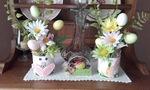 Déco de Pâques pour piquet de fleurs- Dy