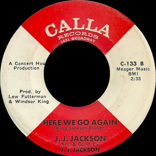 "J.J. Jackson : Album "" The Great J.J. Jackson "" Warner Bros. - Seven Arts Records WS 1797 [ US ]"