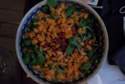 Salade vitaminée contre rhume pernicieux