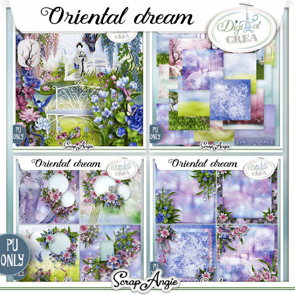 ORIENTAL DREAM by Scrap'Angie
