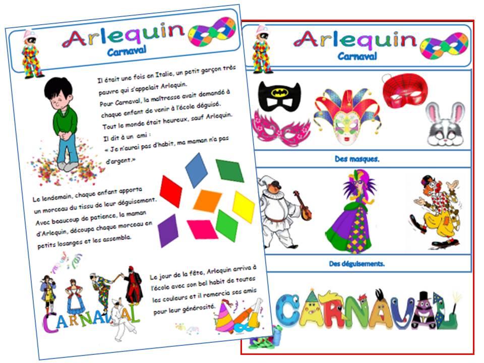 Arlequin Coloriage Couleur.Carnaval L Histoire De Arlequin A La Grande Ecole