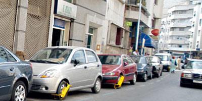 Le Sabot à Rabat : Les voitures à Rabat ne seront jamais immobilisées