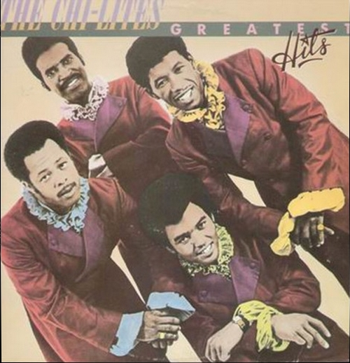 "The Chi-Lites : Album "" Greatest Hits "" Epic Records PE 38627 [ US ]"