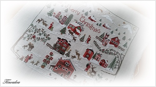 "Sal ""Merry christmas"" de Sara Guermani fini!!"