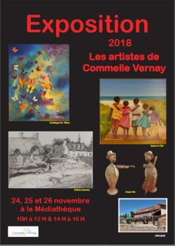 Sélection EXPOSITIONS / ANIMATIONS 2018