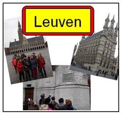 [4e année] Visite de la ville de Leuven