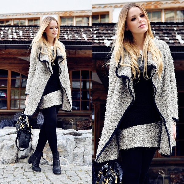 Kristina Bazan - A+Ro Coat And Dress - CRANS MONTANA