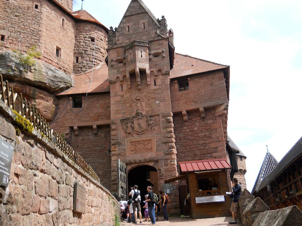 château de Kronenbourg      ...Alsace
